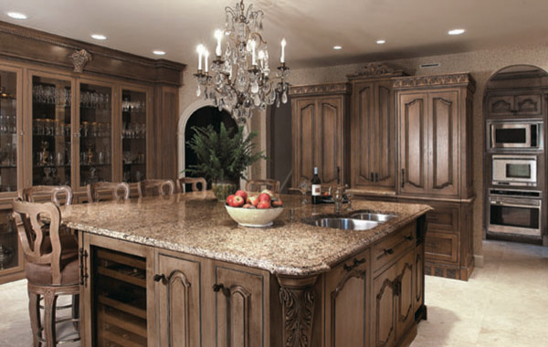 Old world kitchen designs traditional kitchen denver for Classic kitchen decor