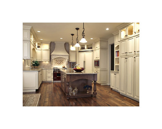 Kitchen Cabinet Refacing on Custom Kitchen Island Ideas On Old World Kitchen Designs