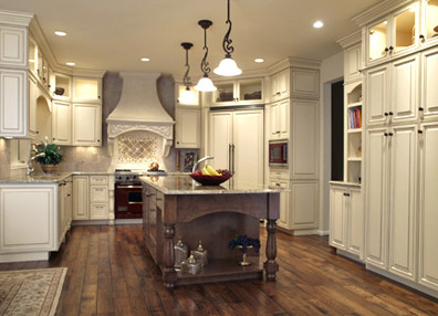old-world kitchen designs - traditional - kitchen - denver -