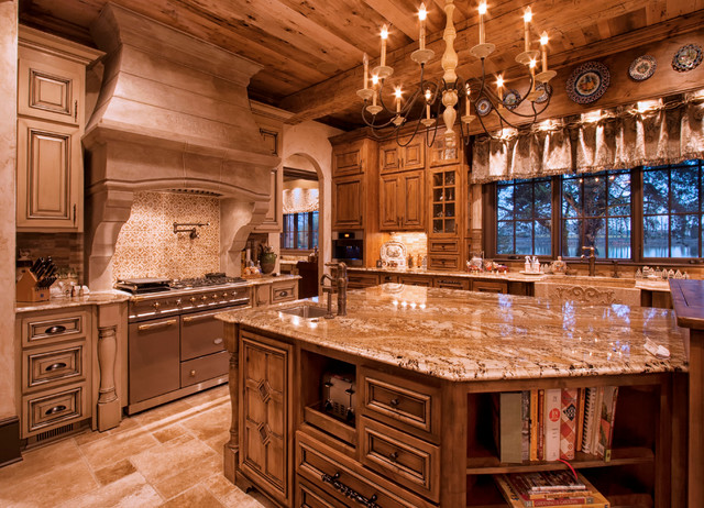 Old World Kitchen Traditional Kitchen Charlotte By