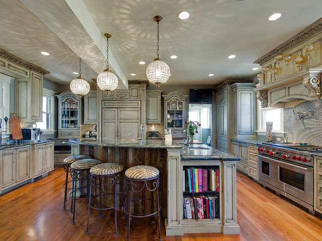 Old World Traditional Kitchen Denver By Sanctuary Kitchen And Bath Design