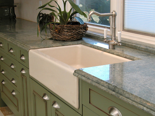 What Are Older Kitchen Sinks Made Of