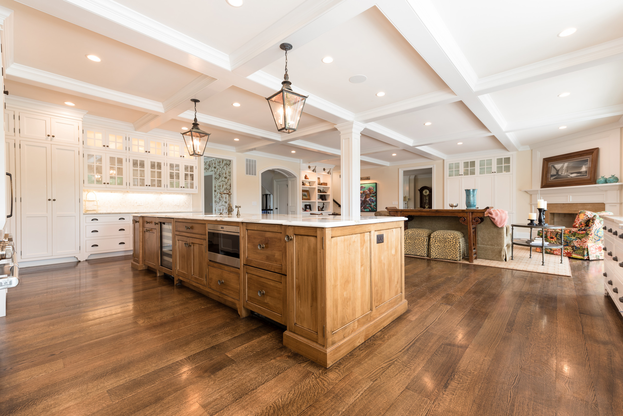 Old World Wyman Lane by Don Justice Cabinet Makers