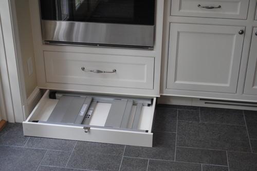 Clever Hidden Storage Spaces