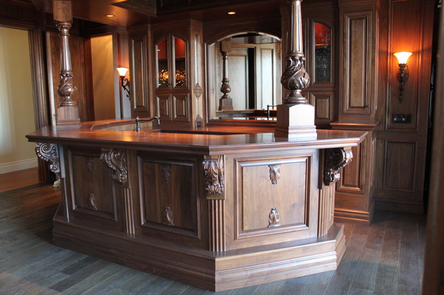 Olde english pub traditional kitchen san diego by for Old english kitchen designs