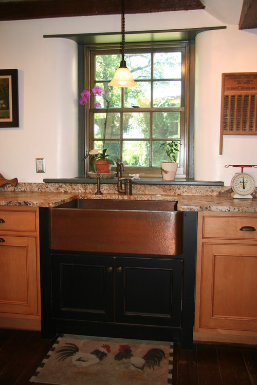 Older Charming Home kitchen design by philadelphia kitchen and bath