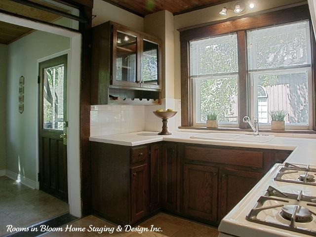 Older Home Renovated & Staged to Sell! traditional-kitchen