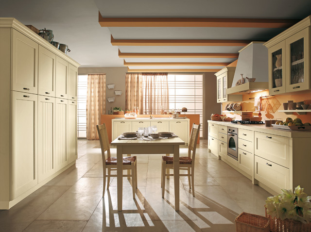 Olimpia Ivory  Modern  Kitchen  san diego  by ITALIAN KITCHEN