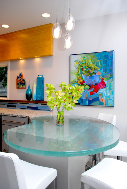 Olmos Park residence contemporary-kitchen