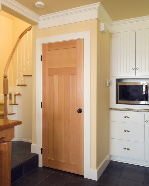 Kitchen Pantry Built In Under The Stair Well