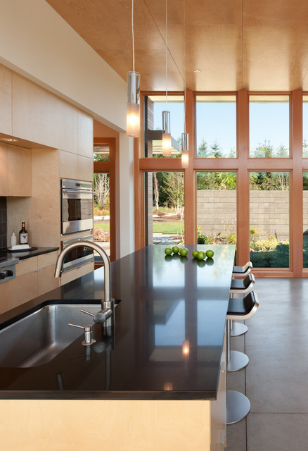 Olympia Residence Modern Kitchen Seattle By Coates Design Architects