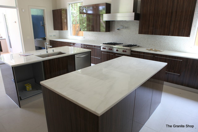 Olympian White Danby Kitchen Countertops contemporary kitchen