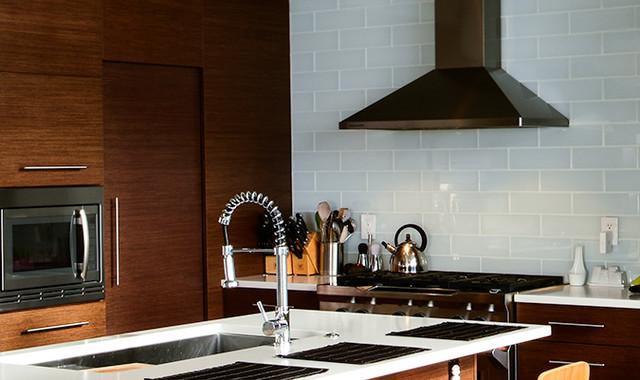 Olympic Manor midcentury-kitchen