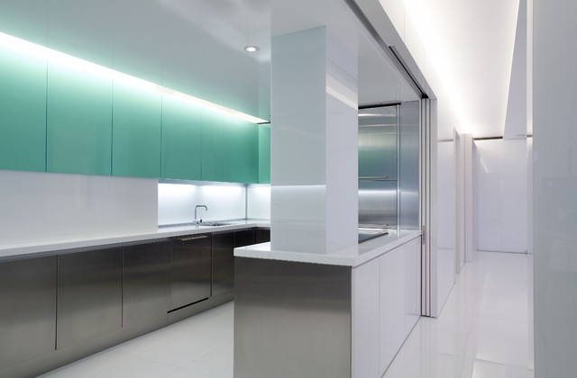 Olympic Towers contemporary-kitchen