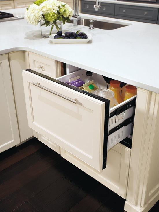 Omega Custom Refrigerator Drawer Panels -