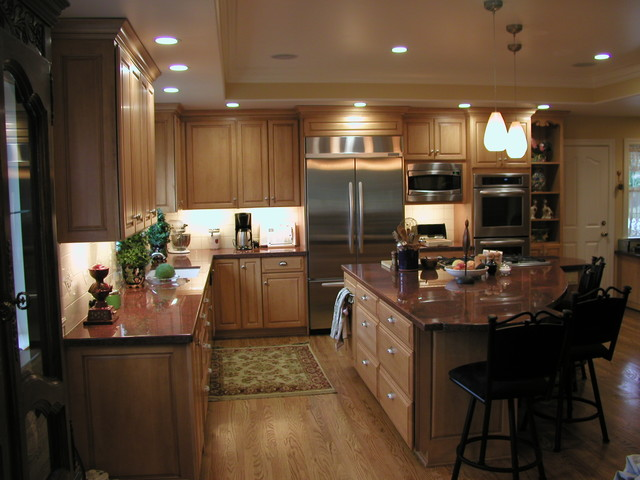 Omega Cabinets Kitchen Traditional Kitchen San