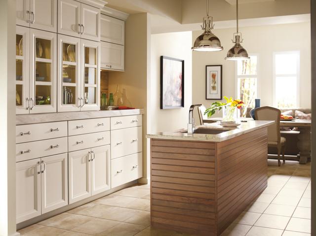 Omega White Kitchen Cabinets - Modern - Kitchen - by ...