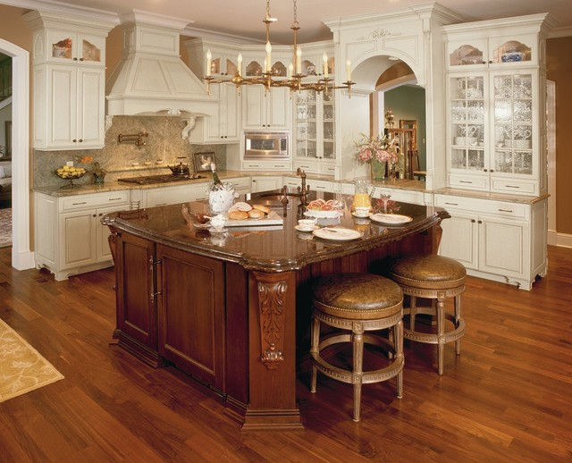 Omega White Kitchen Cabinets - Traditional - Kitchen - Other ...