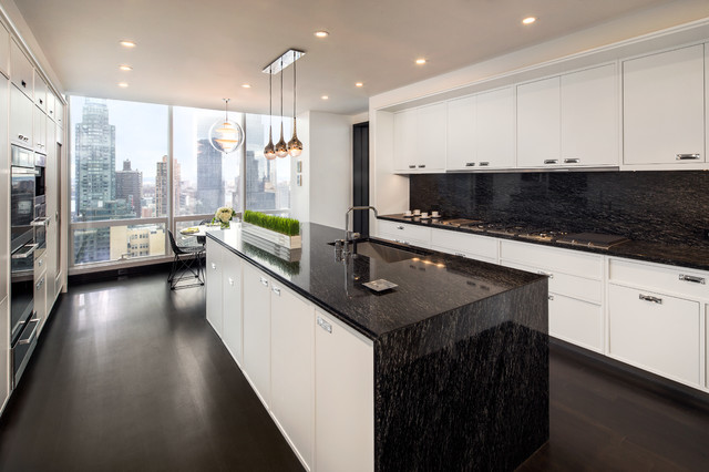 One57 New York City - Contemporary - Kitchen - other metro ...