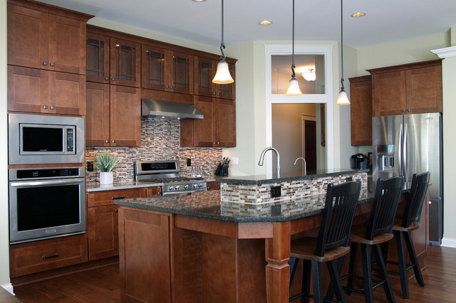 Onopa Residence Orendorf Custom Homes Contemporary Kitchen Milwaukee By Mid State