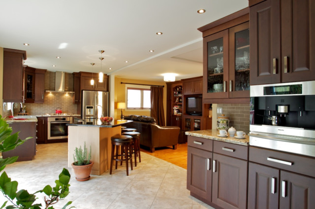 kitchen design open concept open concept traditional kitchen toronto by andros 4529