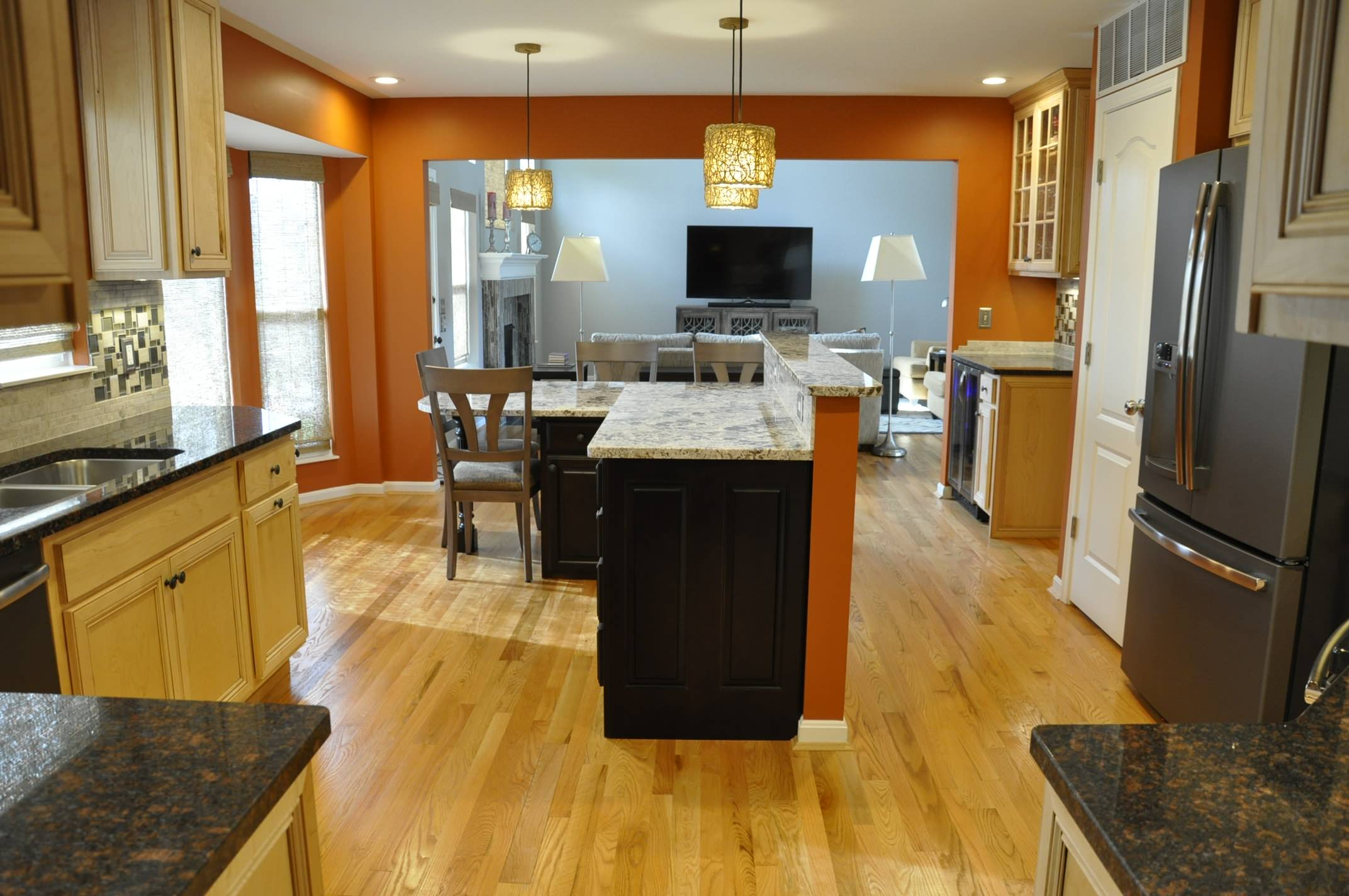 Open Concept First Floor Renovation with 2story Great Room