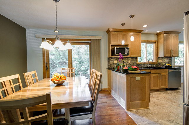 Open Concept Kitchen Contemporary Kitchen Milwaukee By Jm Remodeling Construction