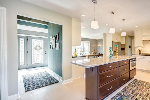 Open Concept Kitchen Remodel Transitional Kitchen
