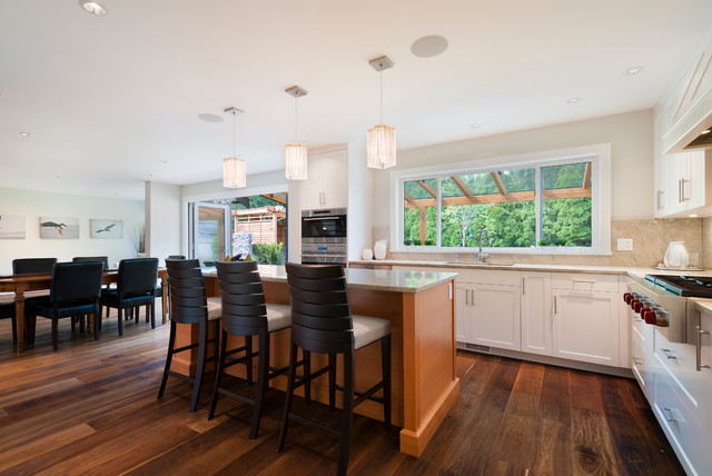 Open Concept Living Dining Area