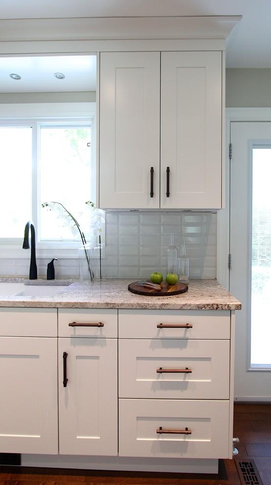 Open concept renovation Saskatoon - Craftsman - Kitchen ...