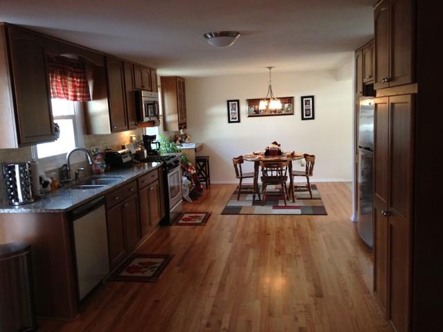 Open Floor Plan Galley Traditional Kitchen New York By Jackie 39 S Kitchen Bath Design