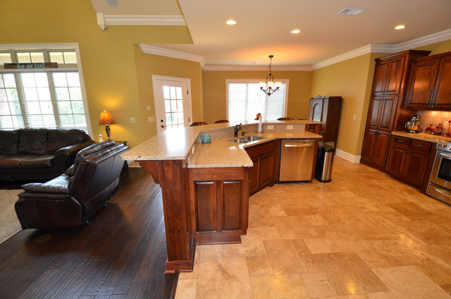 Open Floor Plan - Craftsman - Kitchen - Atlanta - by Real Estate in ...