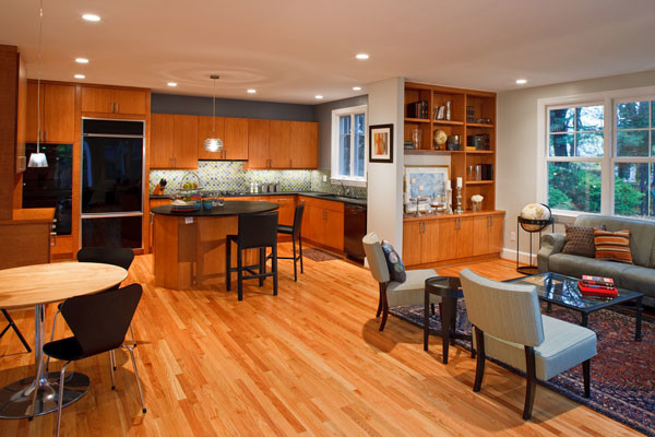 open floor planskitchen dining or family room integration traditional kitchen