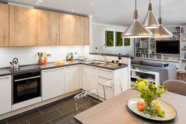 Open Kitchen Modern Kitchen Dublin By Black Fox