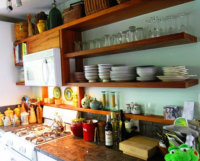 The Benefits Of Open Shelving In The Kitchen: Open Kitchen Shelves