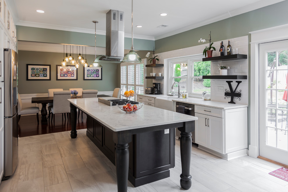 kitchen islands atlanta open kitchen with large island contemporary kitchen atlanta by stoneunlimited kitchen 6778