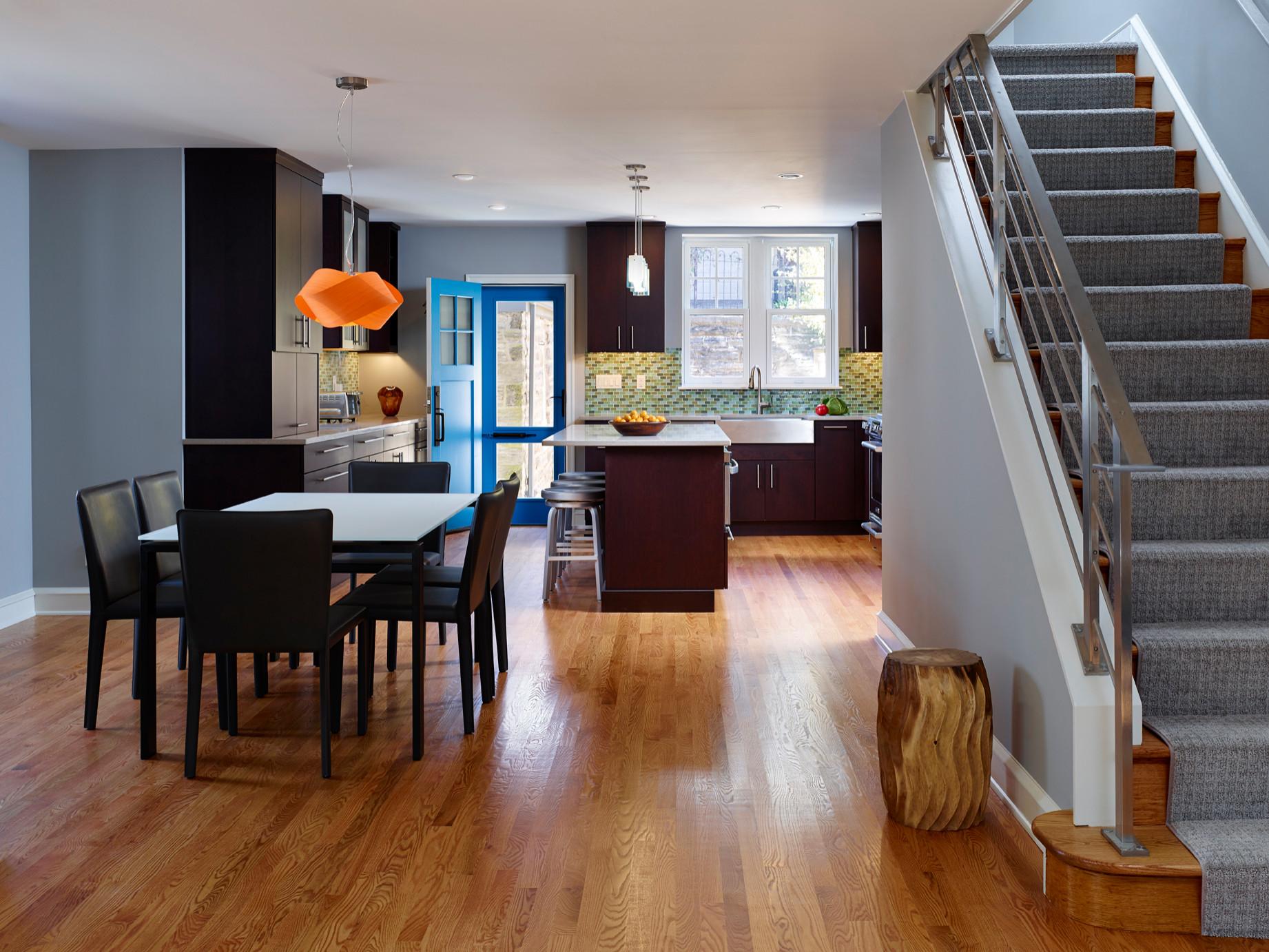 Open Floor Plan Flooring Houzz