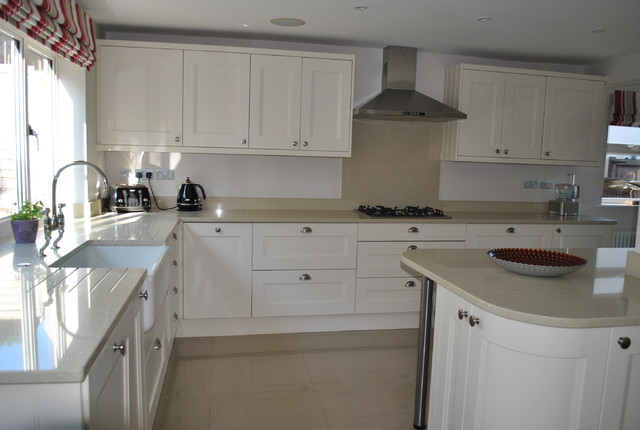 Open Plan Kitchen And Snug Transformation Traditional