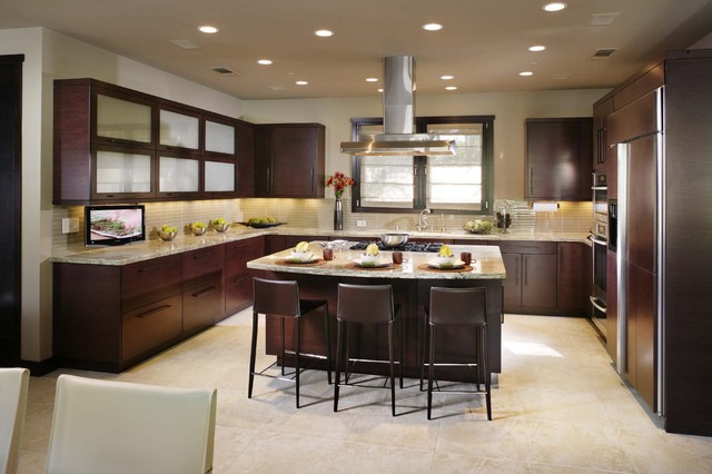 Open Plan Kitchen contemporary-kitchen