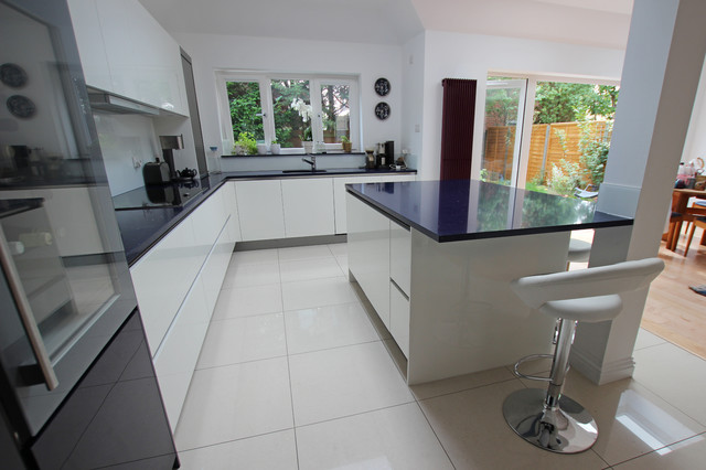 Open plan kitchen extensions modern kitchen london Contemporary open plan kitchen