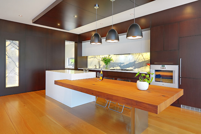 Open Plan Kitchen Contemporary Kitchen Sydney By Impala Kitchens And
