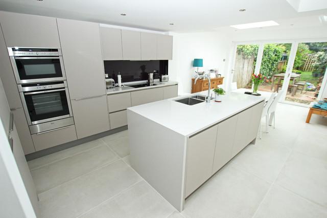 Open Plan Kitchen Space The Cashmere Kitchen Modern Kitchen