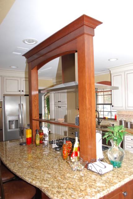 Open Plan eclectic-kitchen