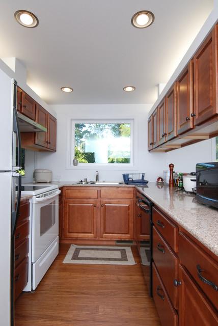 Open Plan LivingDiningKitchen Space Eclectic Kitchen