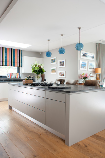 Open Plan Living Contemporary Kitchen Essex By Moylans Design Limited