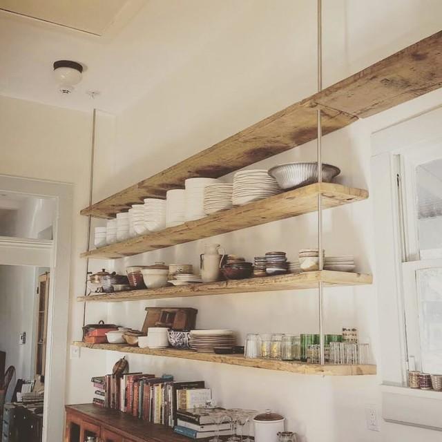 Open Shelving In Kitchen