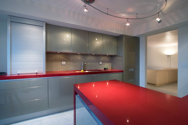 Opera Glass Stilato Kitchen contemporary-kitchen