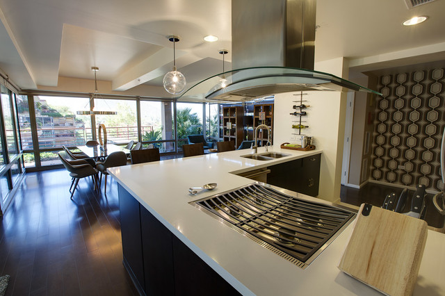 Optima Camelview Contemporary Kitchen Phoenix By Jennifer Style