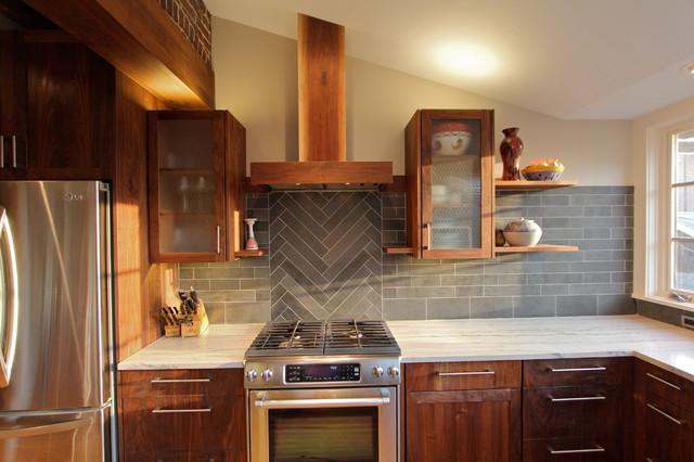 Orange Street: Media, PA contemporary-kitchen