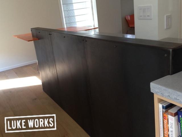 Orange Tops contemporary-kitchen